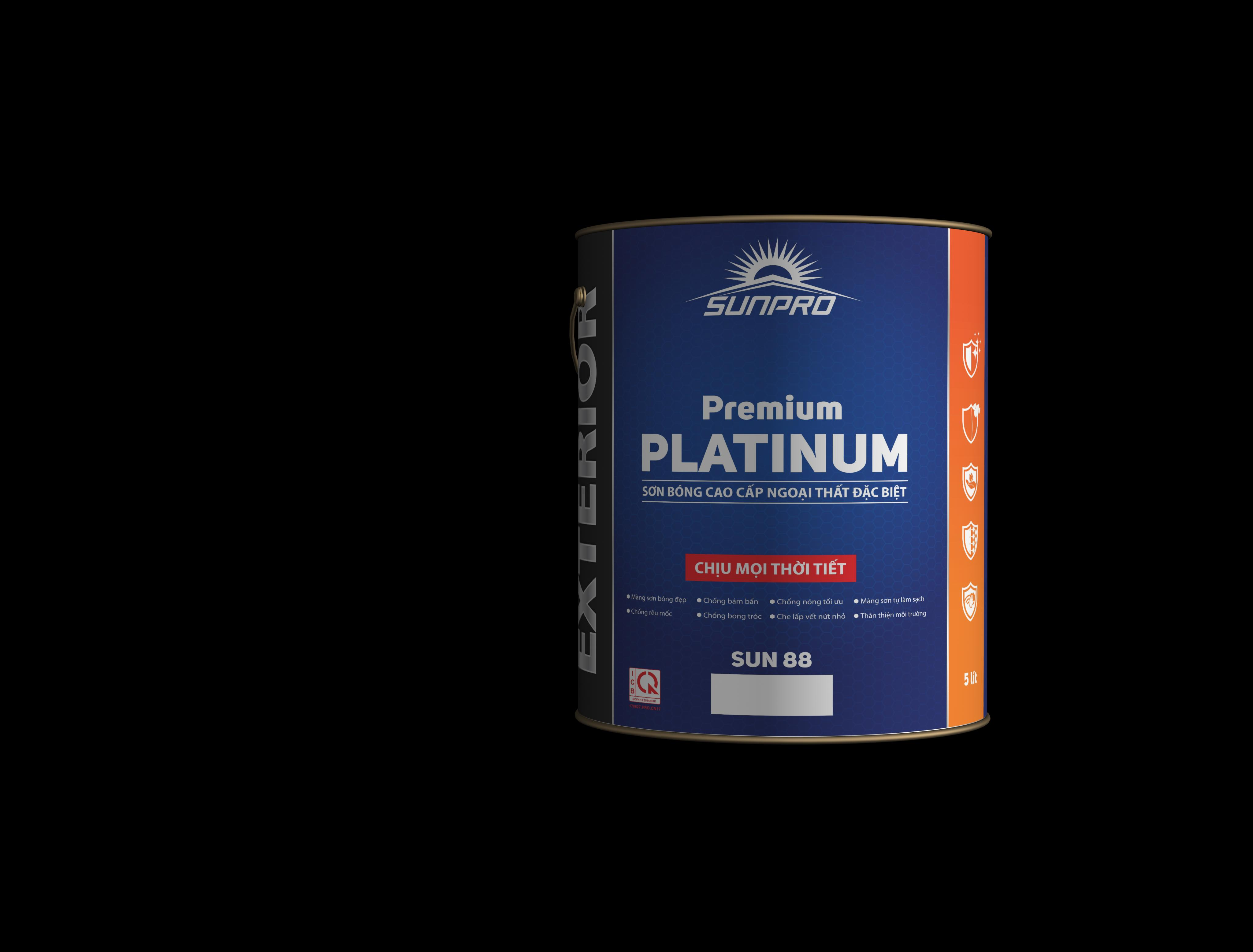 Sơn bóng cao cấp ngoại thất đặc biệt Premium PLATINUM